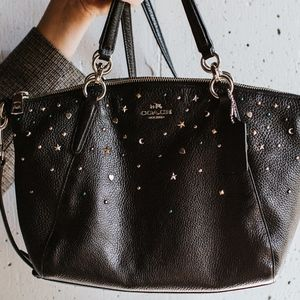 Coach Bags - Authentic Moon and Star Studded Coach Purse Coach